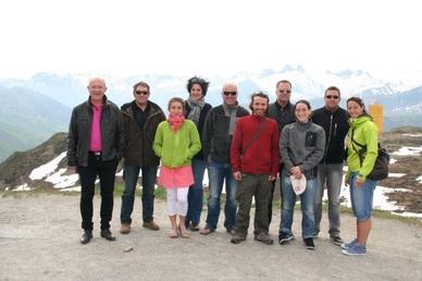 Elus et techniciens du Pays en déplacement en Maurienne